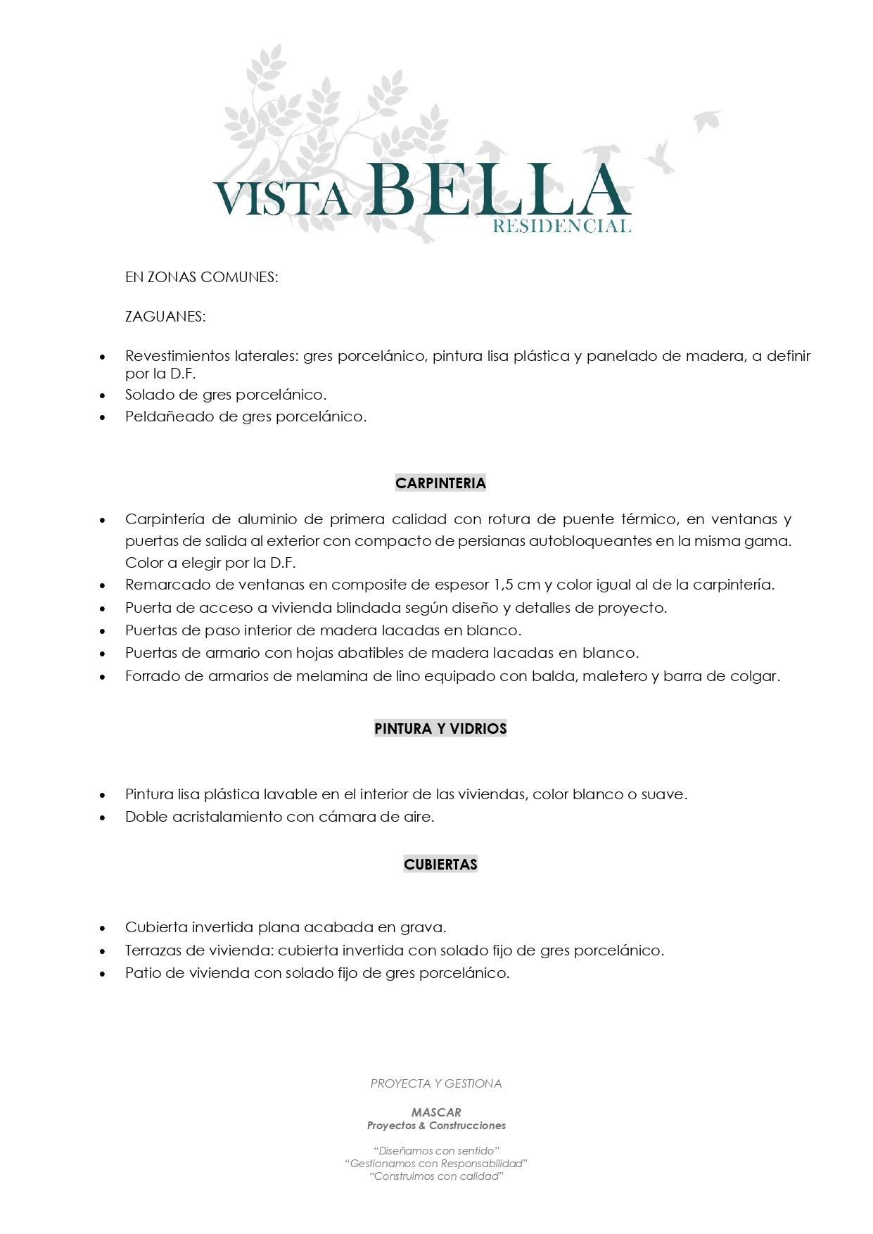 MEMORIA DE CALIDADES - Pag.2